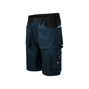 Rimeck Woody pánske pracovné krátke nohavice, tmavomodré