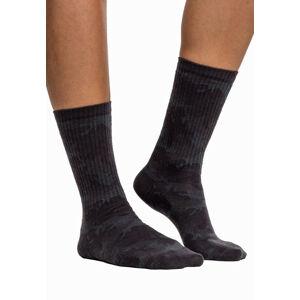 Urban Classics Camo ponožky 2 páry, dark camo