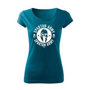 WARAGOD dámske krátke tričko Archelaos, petrol blue150g/m2