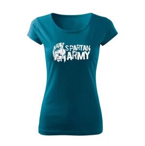 WARAGOD dámske krátke tričko Aristón, petrol blue150g/m2