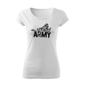 WARAGOD dámske krátke tričko Nabis, biela 150g/m2