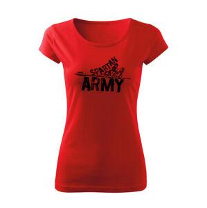 WARAGOD dámske krátke tričko Nabis, červená 150g/m2