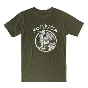 """WARAGOD krátke tričko """"rumunský drak"""", olivová160g/m2"""