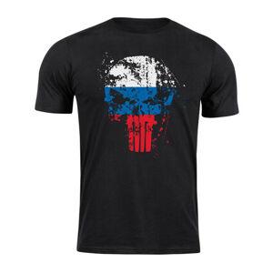WARAGOD krátke tričko SI Punisher, čierne