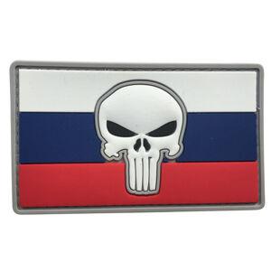 WARAGOD Nášivka 3D Slovenský Punisher 8.5x5cm