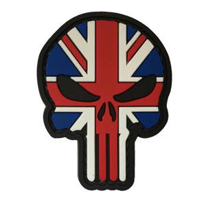 WARAGOD Nášivka 3D UK Punisher 6x4.5cm