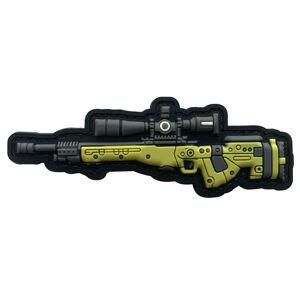 WARAGOD Nášivka AWM 3D GUN 10.3x3.5cm