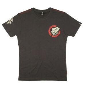 Yakuza Premium pánske tričko 3010, tmavosivé